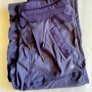 Lululemon dance studio pants/unlined